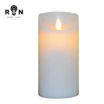 RIN เทียน LED 6 นิ้ว - สีขาว