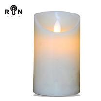 RIN เทียน LED 5 นิ้ว - สีขาว
