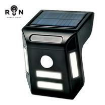 RIN ไฟ Solar Nightlight สามเหลี่ยม 4COB LED