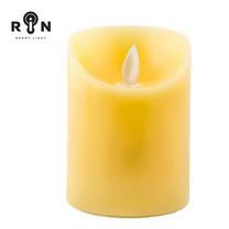 RIN เทียน LED 4 นิ้ว - สีเหลือง