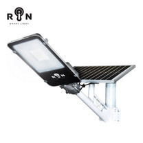 RIN ไฟ Solar Street Light สี่เหลี่ยม 50W 96LED + รีโมท