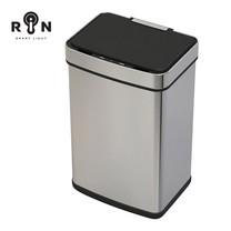 RIN ถังขยะเซ็นเซอร์เปิดปิดอัตโนมัติ Stainless ความจุ 50 ลิตร