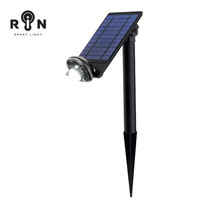 RIN ไฟ Solar Nightlight กลม 8LED