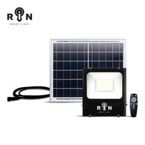RIN ไฟ Solar Sensor Flood Light สี่เหลี่ยม 150W 224LED + รีโมท