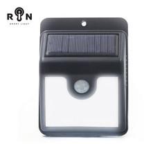 RIN ไฟ Solar Nightlight สามเหลี่ยม 4 LED