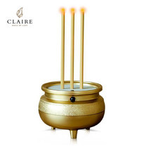 CLAIRE ธูปไฟฟ้ามินิ 3 ดอก สีทอง