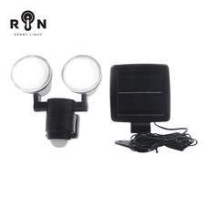 RIN ไฟ Nightlight Solar กลมคู่ 12 LED