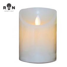 RIN เทียน LED 4 นิ้ว - สีขาว