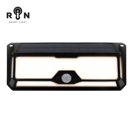 RIN ไฟ Solar Nigthlight สี่เหลี่ยม 136LED Warm White