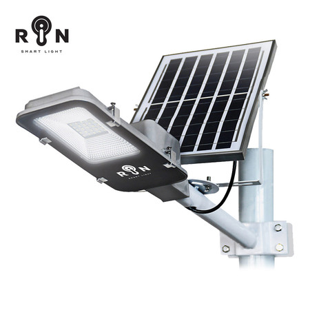 RIN ไฟ Street Light Solar 10W 25 LED + รีโมท