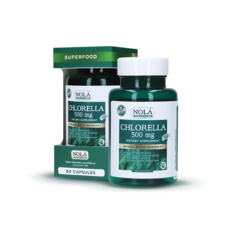 CHLORELLA 500 mg DIETARY SUPPLEMENT NATURAL ACTIVE INGREDIENT