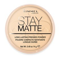 Rimmel London Stay Matte Long Lasting Pressed Powder No.1 #Transparent 14g