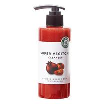 Wonder Bath Super Vegitoks Cleanser 300ml. (สีแดง) คลีนซิ่งผัก