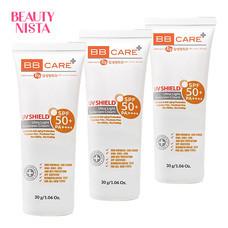 BB Care UV Shield Ultra Light Sunscreen Cream SPF50+ PA+++ 30 ml (ซื้อ 2 แถม 1)