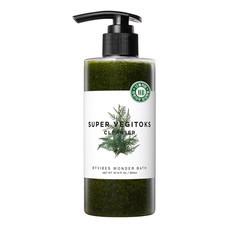 Wonder Bath Super Vegitoks Cleanser 300ml. (สีเขียว) คลีนซิ่งผัก