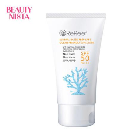 Rereef Reef-Safe Sunscreen SPF50 PA+++ ขนาด 40 กรัม