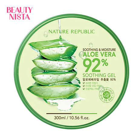 Nature Republic Soothing & Moisture Aloe Vera 92% Soothing Gel ขนาด 300 มล.