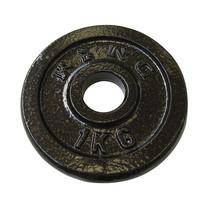 KING แผ่นน้ำหนัก สำหรับดัมเบล และบาร์เบล ขนาดแกน 30 มม. น้ำหนัก 1 กก. (แผ่น)