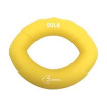 EXERCISE แฮนด์กริ๊ป ทรงรี AB3146 สีเหลือง ขนาด 20ปอนด์
