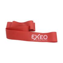 EXEO Super Band แถบยางบริหารแบบห่วงยาว 0.8มม. ขนาด 5 x 100 cm. สีแดง หนา 0.80 mm.