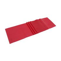 EXEO แถบยางยืดเหยียด Stretch Band ฟื้นฟู 0.20mm. สีแดง
