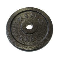 KING แผ่นน้ำหนัก สำหรับดัมเบล และบาร์เบล ขนาดแกน 30 มม. น้ำหนัก 6 กก. (แผ่น)