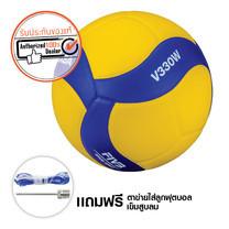 MIKASA วอลเลย์บอล หนัง PU V330W เบอร์ 5