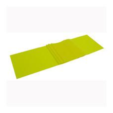 EXEO แถบยางยืดเหยียด Stretch Band ฟื้นฟู 0.15mm. สีเหลือง