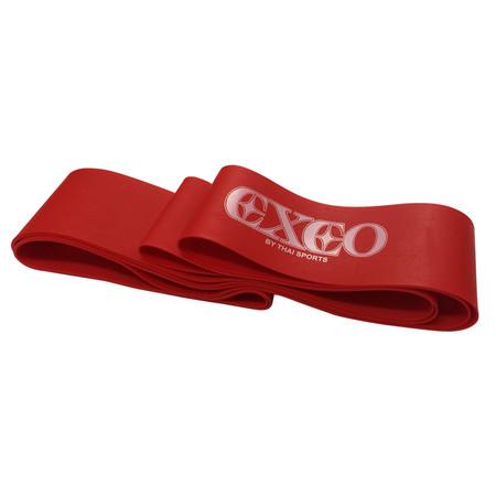 EXEO Super Band แถบยางบริหารแบบห่วงยาว 0.8มม.