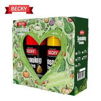 "BECKY Seasoning Gift Set ""เบ็คกี้"" ผงปรุงรสจากธรรมชาติ ชุดของขวัญ (ขนาด 90g. x 2 ขวด)"