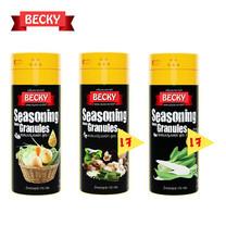 "BECKY Seasoning ""เบ็คกี้"" ผงปรุงรสจากธรรมชาติ ชุดผักเพื่อสุขภาพ (ขนาด 170g. x 3 ขวด)"
