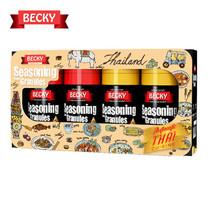"BECKY Seasoning Gift Set ""เบ็คกี้"" ผงปรุงรสจากธรรมชาติ ชุดของขวัญ (ขนาด 90g. X 4 ขวด)"