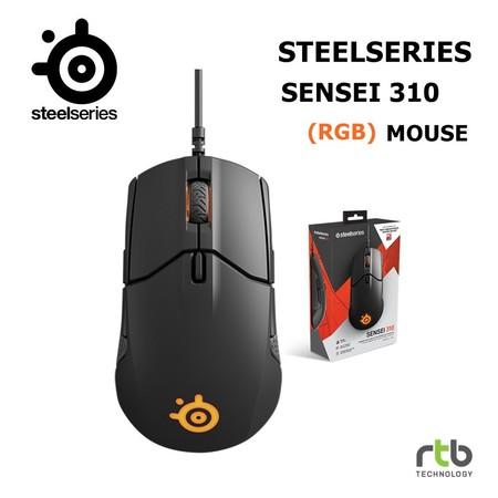 SteelSeries เมาส์เกมมิ่ง RGB รุ่น Sensei 310 - Black
