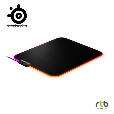SteelSeries แผ่นรองเมาส์เกมมิ่ง RGB รุ่น Prism Cloth Gaming Mouse Pad - M Size