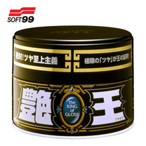 SOFT99 ผลิตภัณฑ์เคลือบเงารถยนต์ ราชาแห่งความเงางาม The King Of Gloss (Black & Dark) 300 g
