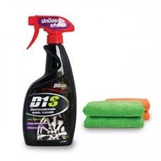 D1 Spec น้ำยาทำความสะอาดล้อ D1-15811 (แถมฟรี ผ้าไมโครไฟเบอร์)