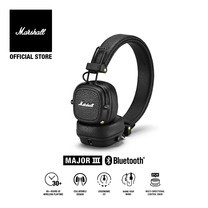 MARSHALL หูฟัง MAJOR III BLUETOOTH - BLACK