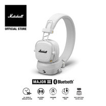 MARSHALL หูฟัง MAJOR III BLUETOOTH - WHITE