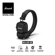 MARSHALL หูฟัง MAJOR IV BLUETOOTH - BLACK