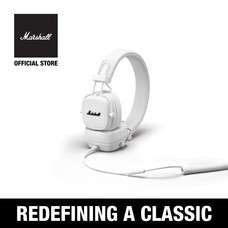 หูฟัง MARSHALL MAJOR III WIRED WHITE