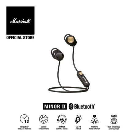 MARSHALL หูฟัง MINOR II - BROWN