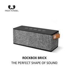 ลำโพงบลูทูธ Fresh 'n Rebel Rockbox Brick - Concrete