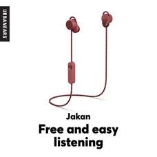 หูฟังบลูทูธ Urbanears รุ่น Jakan - Mulberry Red