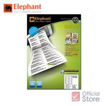 Elephant ตราช้าง ป้ายสติ๊กเกอร์เลเซอร์ 18-035