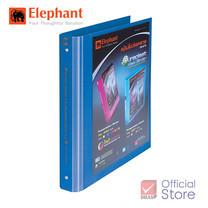 Elephant ตราช้าง แฟ้มโชว์เอกสาร 444A4 น้ำเงิน