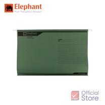 Elephant ตราช้าง แฟ้มแขวน 905 เขียว แพ็ก 10 เล่ม