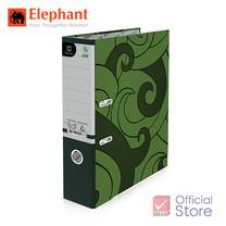 Elephant ตราช้าง แฟ้มสันกว้าง 120F เขียว