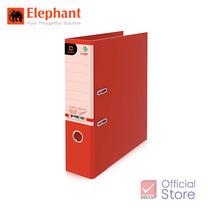 Elephant ตราช้าง แฟ้มสันกว้าง 2100F4 แดง