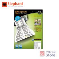 Elephant ตราช้าง ป้ายสติ๊กเกอร์เลเซอร์ 18-034