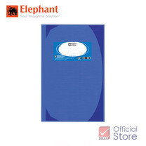 Elephant ตราช้าง สมุดมุมมัน 70G 5/100HC102 น้ำเงิน